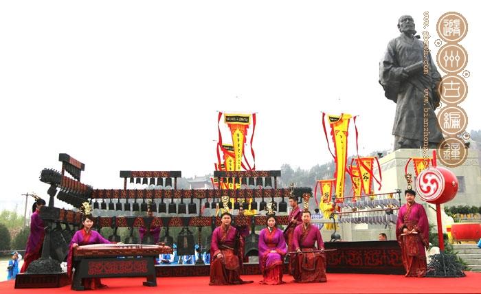 2014年3月30日,随州市古编钟文化发展有限公司参与陕西韩城司马迁
